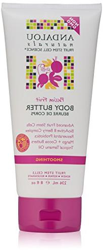 Andalou Naturals Smoothing Body Butter, Passion Fruit, 8