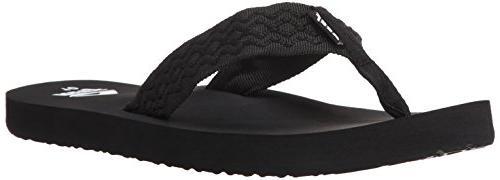 REEF SMOOTHY SANDALS - MENS S60313 - 8 - BLACK