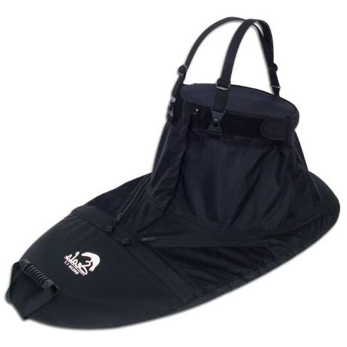 Seals Sneak Zippered Spray Skirt, 6.7, Black