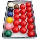 "New Snooker Balls Regulation Standard 2 1/16"" Full Set 22"