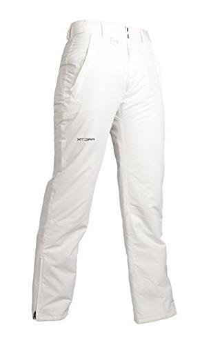 Arctix Women's Snow Pants, Medium, White
