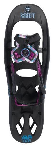 Tubbs Snowshoes FLEX Ridge Snowshoes, Black/Magneta, 22-Inch
