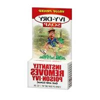 Ivy-dry Soap. Instantly Removes Poison-ivy, Oak and Sumac. 3