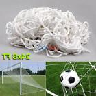 24x8FT Full Size Soccer Football Goal Post Nets Straight