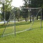 Soccer Goal 12' x 6' Football W/Net Straps, Anchor Ball