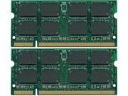 4GB 2x2GB SODIMM PC2-5300 Dell Vostro 1500 MEMORY