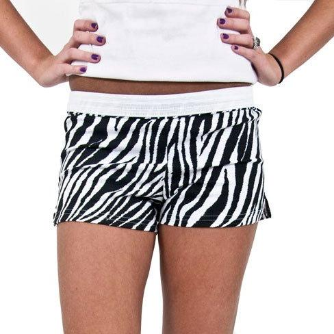 Specialty Soffe Shorts, AS, Zebra