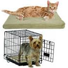 "Soft Cozy Pet Bed Small 18"" Pad Dog Cat Pillow Washable Mat Travel Crate Couch"