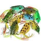 YOGAYET Soft Frogs Topwater Fishing Lures Crankbait Hooks