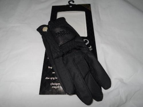Soft Touch Microfiber Golf Glove White Men's LH Small