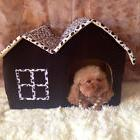New Soft Warm Cotton Pet Dog Cat Bed House Kennel Cushion