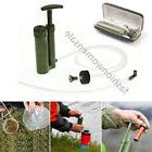 NEW Soldier Portable Water Purifier Purification Pump Filter