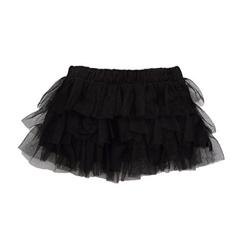 Buenos Ninos Girl's Solid Color Dance Tutu Pettiskirt Blue 9