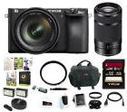 Sony a6500 Mirrorless Camera w/ 55-210mm Lens + 32GB Deluxe