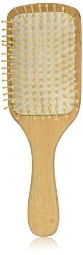 Spa Sisters Hair Brush Bamboo Paddle