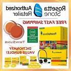 Rosetta Stone® SPANISH HOMESCHOOL 12 MONTH 1-5 +PRINTABLE