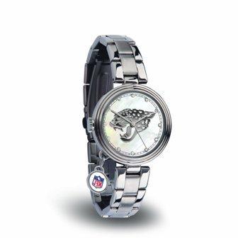 Rico Sparo WTCHA0901 NFL Jacksonville Jaguars Charm Watch