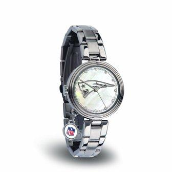 Rico Sparo WTCHA1501 NFL New England Patriots Charm Watch