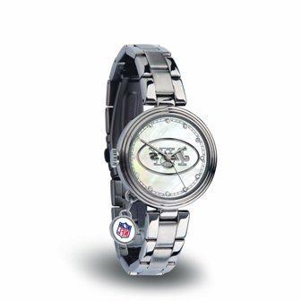 Rico Sparo WTCHA2201 NFL New York Jets Charm Watch