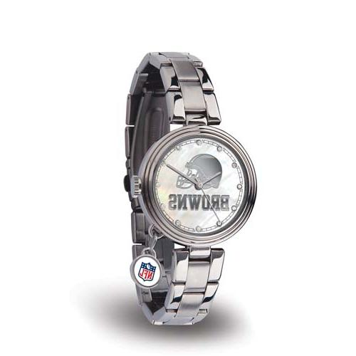 Rico Sparo WTCHA2801 NFL Cleveland Browns Charm Watch
