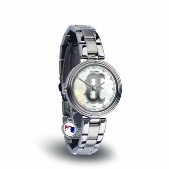 Rico Sparo WTCHA3901 MLB Boston Red Sox Charm Watch