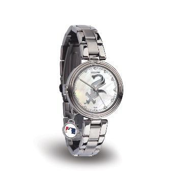 Rico Sparo WTCHA4101 MLB Chicago White Sox Charm Watch