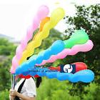 New 100pcs Latex Spiral Balloons Wedding Festival Birthday