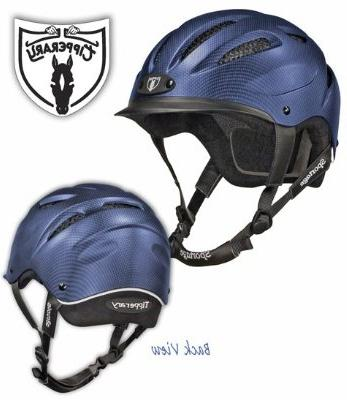 Tipperary Sportage 8500 Riding Helmet MD Navy
