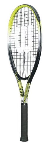 Wilson OS 500 Adult Strung Tennis Racket, 4 3/8