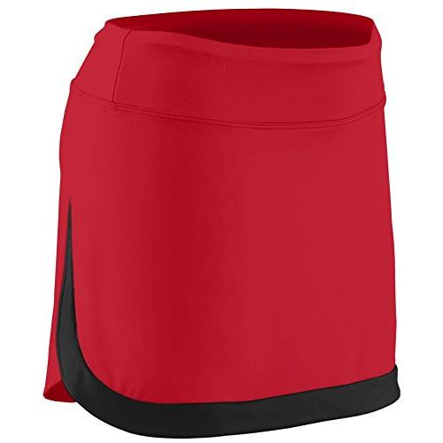 Augusta Sportswear Women's Action Color Block Skort M Black/