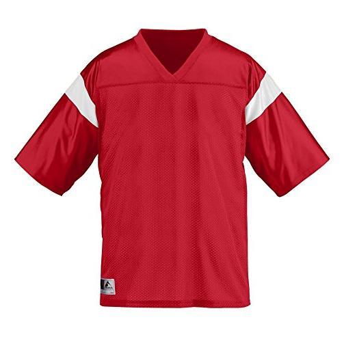 Augusta Sportswear MEN'S PEP RALLY REPLICA TEE S Purple/Gold