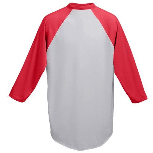 Augusta Sportswear MEN'S BASEBALL JERSEY M White/Black