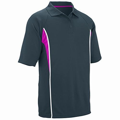 Augusta Sportswear Men's Rival Sport Shirt L Slate/Power
