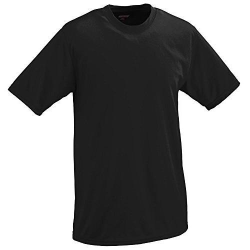 Augusta Sportswear MEN'S WICKING T-SHIRT S Purple