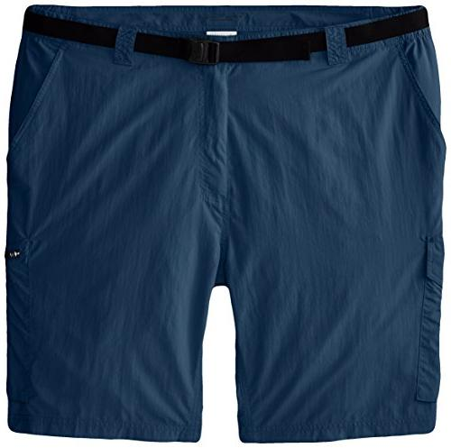 Columbia Men's Silver Ridge Cargo Shorts, Columbia Grey, 34