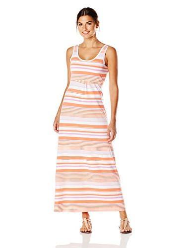 Reel Beauty II Maxi Dress, Collegiate Navy Stripe, Small