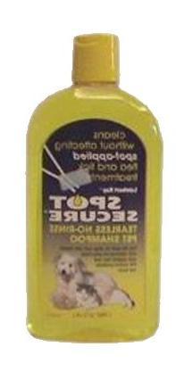 Spot Secure Tearless No-rinse Pet Shampoo - 16 fl oz