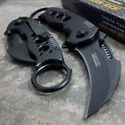 TAC FORCE Spring Assisted Open BLACK TACTICAL EDC Pocket