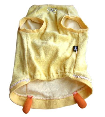 Anit Accessories Squeaker Beak Duck Tank Top Dog Costume