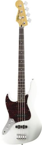 Squier by Fender Vintage Modified Jazz Bass, Olympic White
