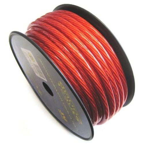Soundquest SQLVLP0R 1/0 Gauge CCA Speaker Wire, Vinyl Matte