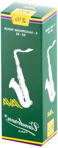 Vandoren SR2725 Tenor Sax JAVA Reeds Strength 2.5; Box of 5