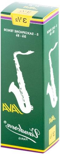 Vandoren SR2735 Tenor Sax JAVA Reeds Strength 3.5; Box of 5