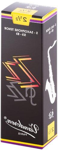 Vandoren SR4225 Tenor Sax ZZ Reeds Strength 2.5; Box of 5