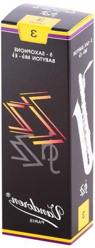 Vandoren SR443 Bari Sax ZZ Reeds Strength 3; Box of 5