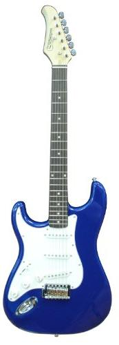 Silvertone SS15 CLB Solid-Body Electric Guitar, Cobalt Blue