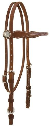 Weaver Leather Stacy Westfall ProTack Oiled Browband