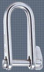 Wichard Stainless Steel Key Pin Shackle With Self-Locking