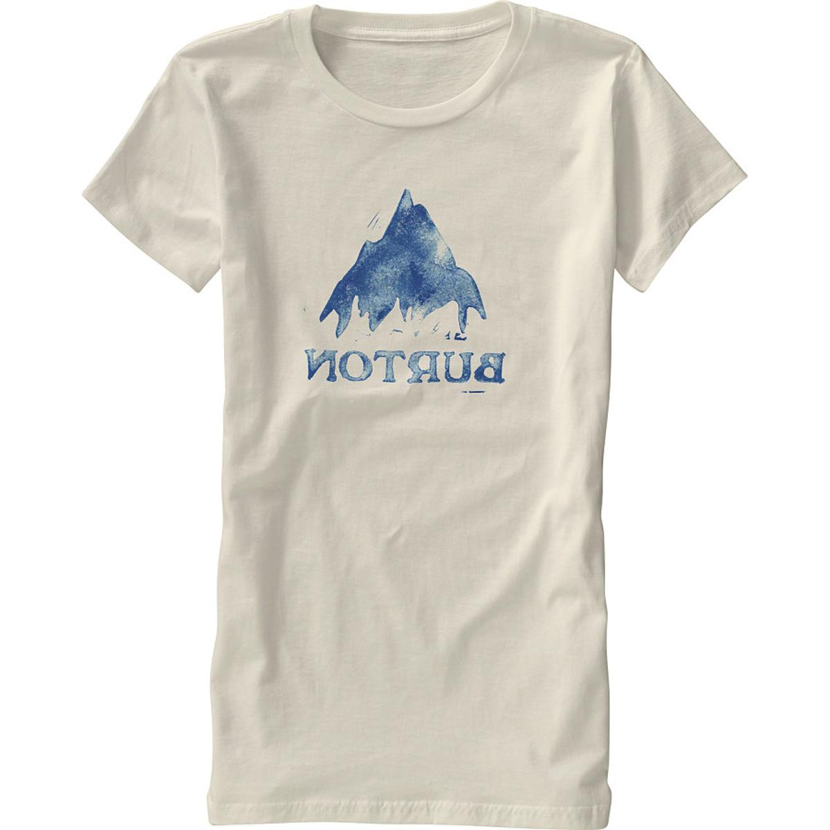 Burton Stamped Mountain Recycled T-Shirt - Short-Sleeve -