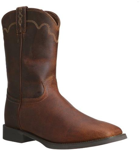 Justin Boots Men's Stampede Collection Roper Boot Wide